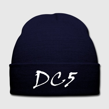 DC5 Knit Cap - Knit Cap with Cuff Print
