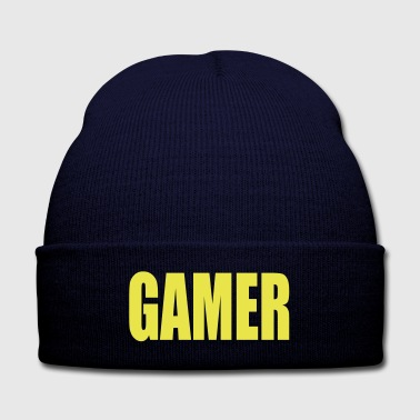 Gamer - Knit Cap with Cuff Print