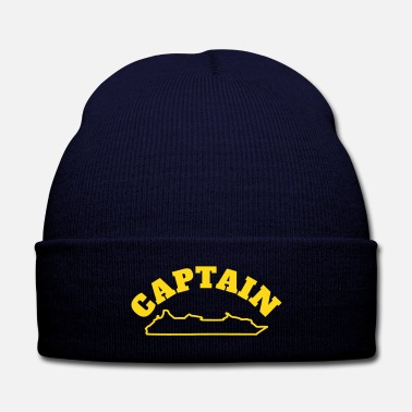 Cruise cruise ship captain hat customs - Knit Cap