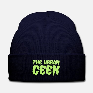 Urban The Urban Geek - Knit Cap with Cuff Print
