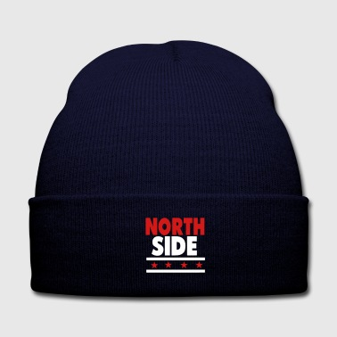 NORTHSIDE CHICAGO - Knit Cap with Cuff Print