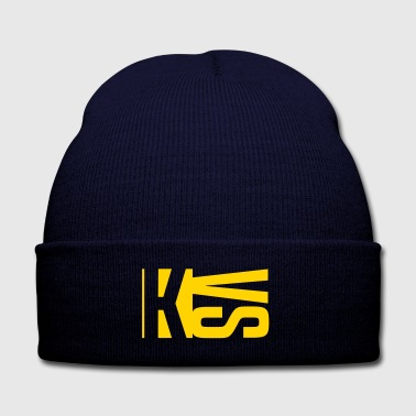 KVS - Knit Cap with Cuff Print