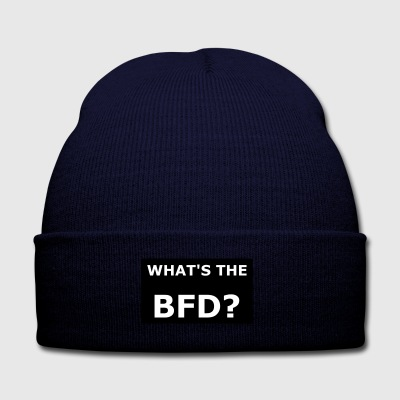 BFD? - Knit Cap with Cuff Print