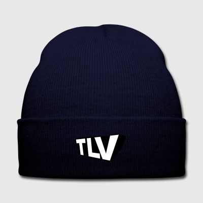 TLV - Knit Cap with Cuff Print
