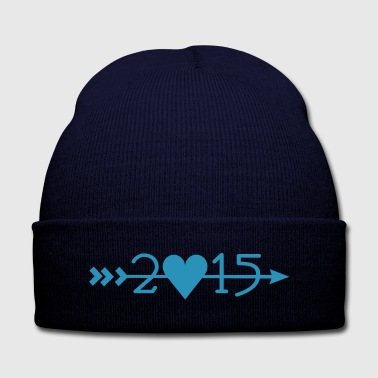 2015_arrows - Knit Cap with Cuff Print