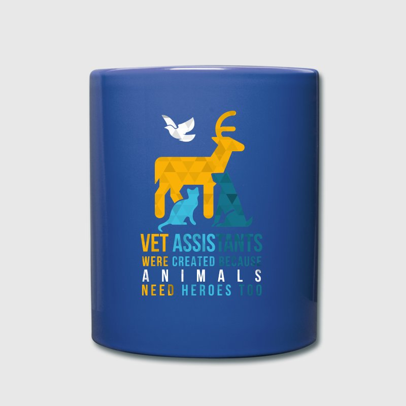 Vet Assistants Heroes Veterinary T Shirt Full Color Mug Spreadshirt