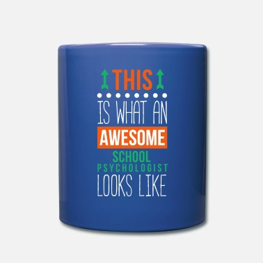 Back To School Awesome School Psychologist Professions T Shirt - Full Color Mug