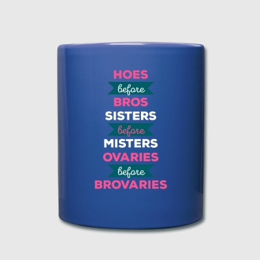 Parks and Recreation Ovaries Brovaries T-shirt - Full Color Mug