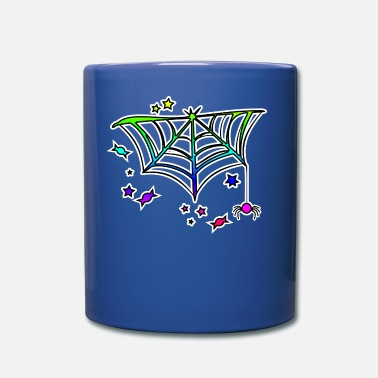 Spider Web Decoration Halloween Candy - Full Color Mug