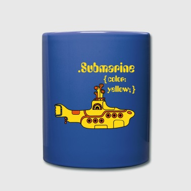 Beatles Yellow Submarine in CSS - Full Color Mug
