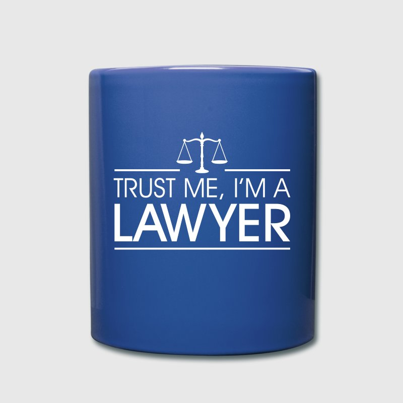 Trust me I'm a Lawyer - Full Color Mug