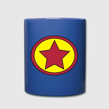 Super, Hero, Heroine, Super Star, Rock Star - Full Color Mug
