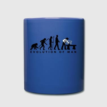 Carpenter evolution_carpenter_d_3c - Full Color Mug