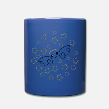 Starry Sky Angel star fly starry sky - Full Color Mug