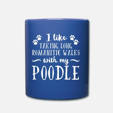 Romantic Romantic Poodle - Full Color Mug
