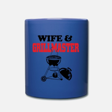Grillmaster wife and grillmaster - Full Color Mug