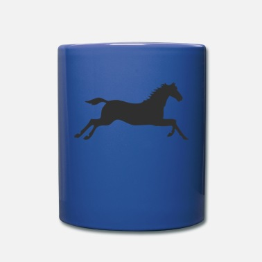 Gallop Horse at a gallop - Full Color Mug