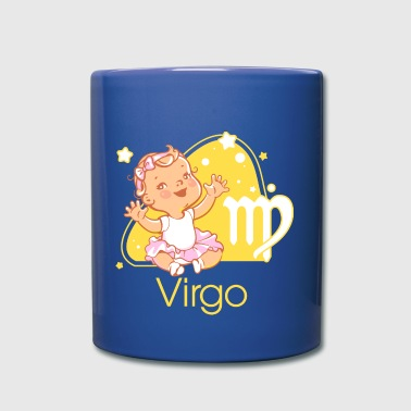 Zodiac sign Virgo - Full Color Mug