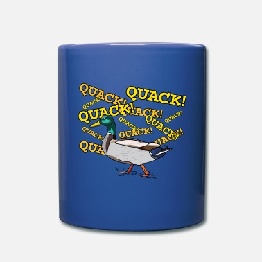 Quack Duck Quack Quack Quack - Full Color Mug