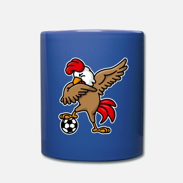 Dab Dabbing dab cock coq gaulois football foot France - Full Color Mug