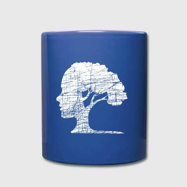 Psychology Tree Wisdom - Full Color Mug