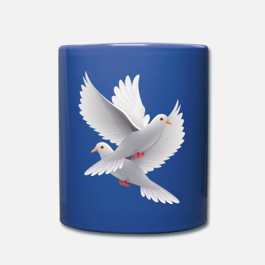Wedding Wedding pigeons - Full Color Mug