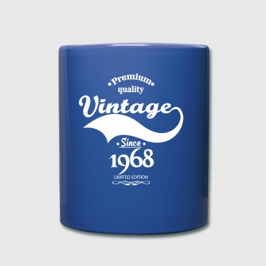 Premium Quality Vintage Since 1968 Limited Edition - Full Color Mug