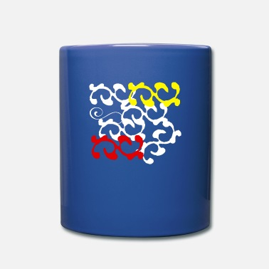 Form forms art - Full Color Mug