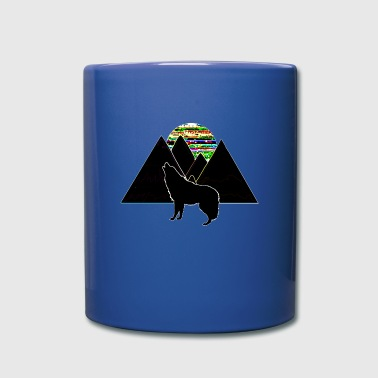 Wolf Mountain Wolf - Full Color Mug