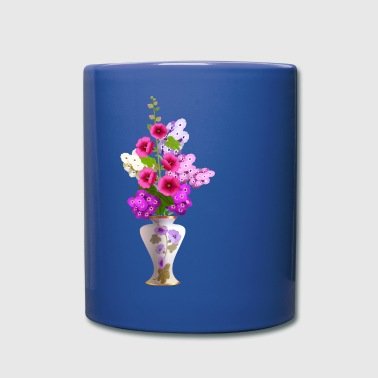 Beautiful flowers in vase - Full Color Mug