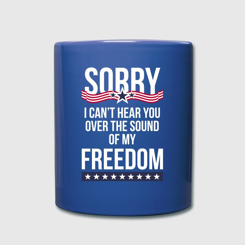 Sound of Freedom State T-shirt - Full Color Mug
