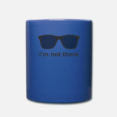I M Not I m not there - Full Color Mug