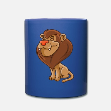 Lion Picture lion cartoon - Full Color Mug