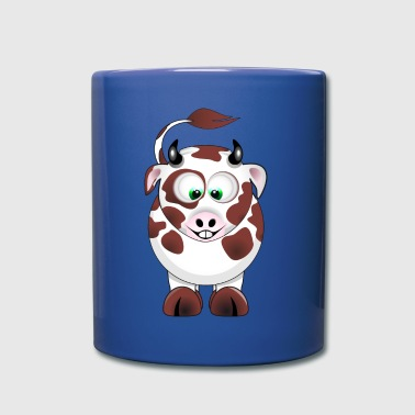 cartoon smiling calf - Full Color Mug