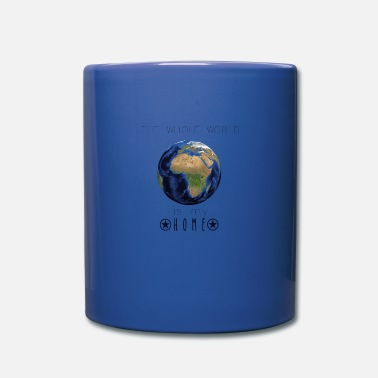 World The world's my home | Travel vacation gift ida - Full Color Mug