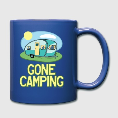 Gone Camping Travel Trailer - Full Color Mug