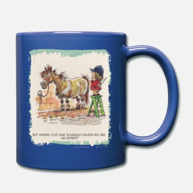 Norman Thelwell Thelwell Hairdresser Be A Expert - Full Color Mug