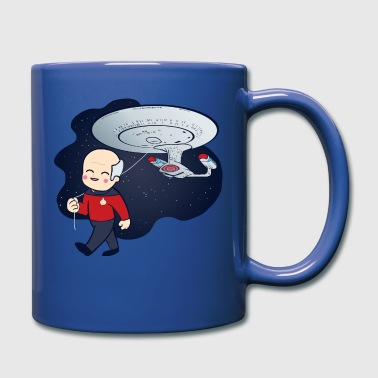 Trek Picard Balloon - Full Color Mug