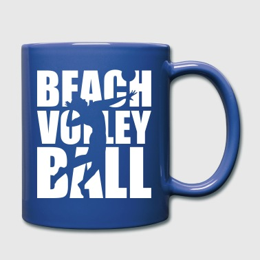 Beachvolleyball - Full Color Mug