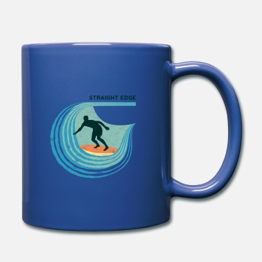 Straight Edge Straight Edge Surfer (light background) - Full Color Mug
