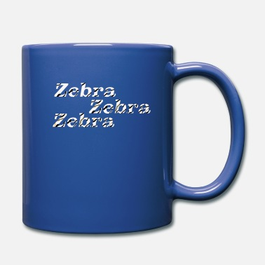 Zebra zebra zebra zebra - Full Color Mug