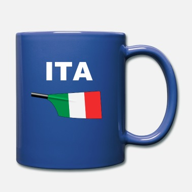 Swoosh ITA - Italy - Rowing - Aviron - Oar - Big Blade - Full Color Mug
