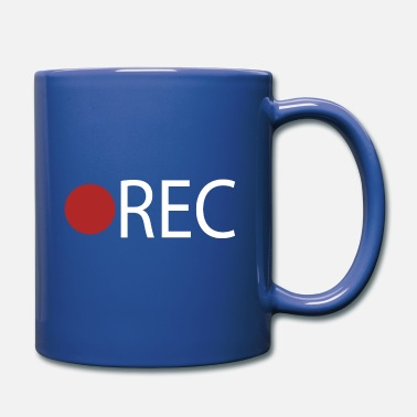 Record REC Record Recording - Full Color Mug