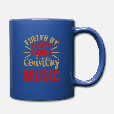 Country Abbreviation Fueled By Coffee And Country Music - Full Color Mug