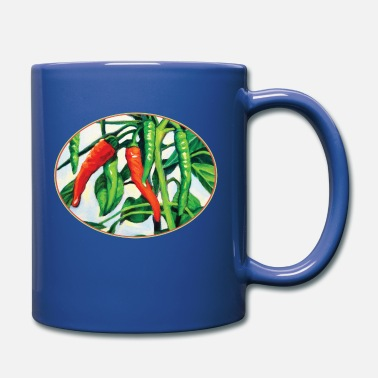Chili Pepper Chili Peppers - Full Color Mug