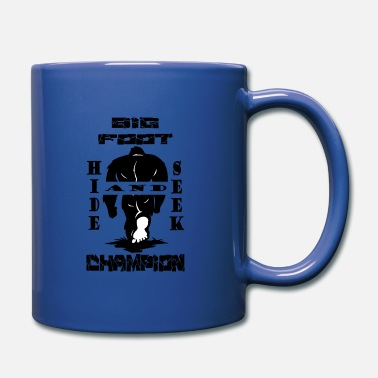 Bigfoot Hide And Seek - Full Color Mug