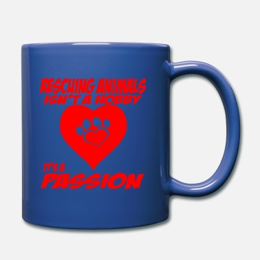 Animal Rescue Rescuing Animals - Full Color Mug