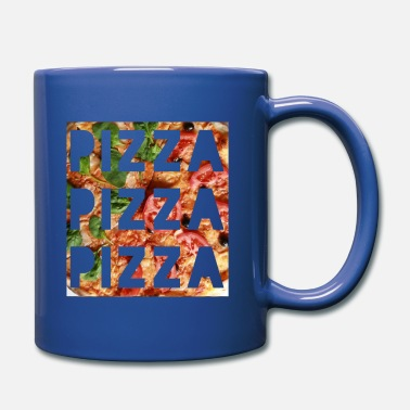 Pizza pizza pizza pizza - Full Color Mug