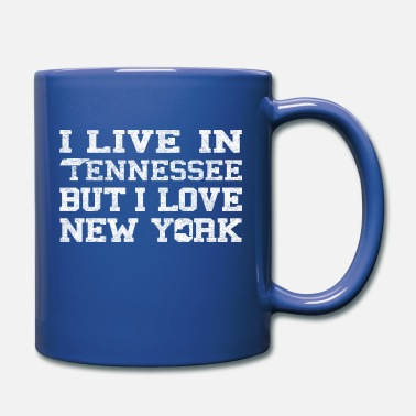 New Live Tennessee Love New York Clothing Apparel Tees - Full Color Mug