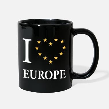 Europe I Love Europe / I Heart Europe - Full Color Mug